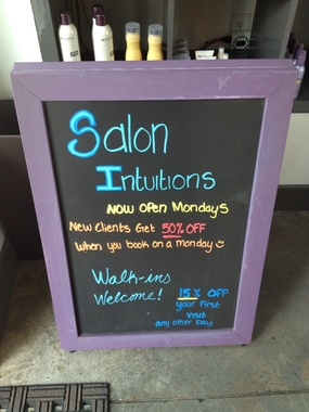 Salon Intuitions