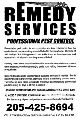 Remedy Pest Control