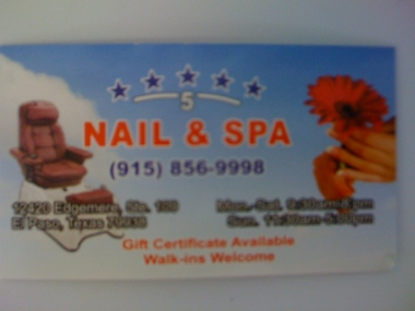 Five Star Nail & Spa