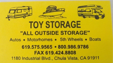 Toy Storage