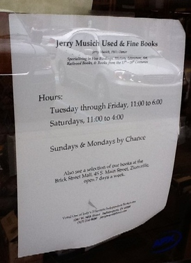 Jerry Musich Used & Fine Books