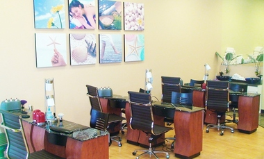 L V Salon & Spa