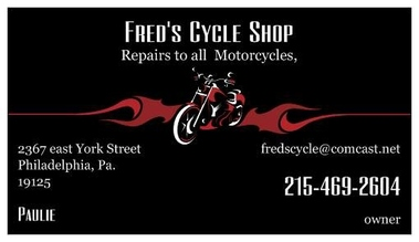 Fred&#039;s Cycle Shop