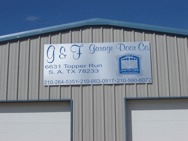 G & F Garage Door Co