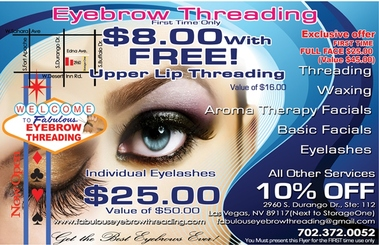 Fabulous Eyebrow Threading