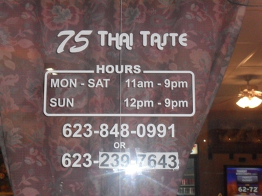 75th Thai Taste Restaurant