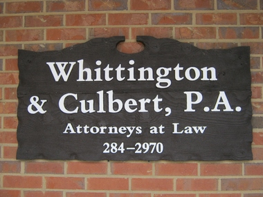 Whittington & Culbert PA