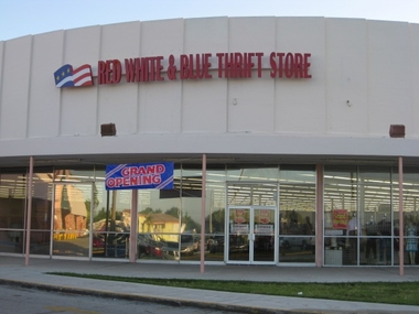 Red White &amp; Blue Thrift Stores