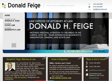 Donald H Feige Law Offices