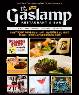 Gaslamp Restaurant &amp; Bar