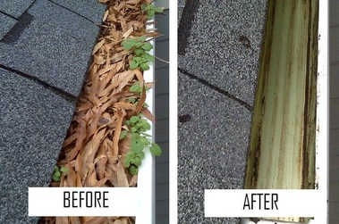 30 Dollar Gutter Cleaning