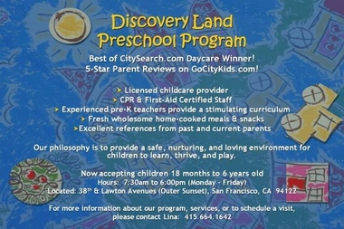 Discovery Land Family Day Care