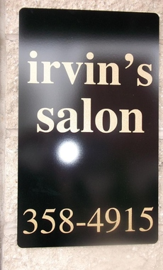 Irvin's Salon INC