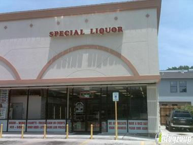 Special Liquor Stores