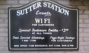 Sutter Station Tavern