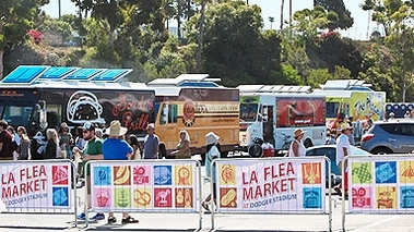 La Flea Market At Dodger Stadium