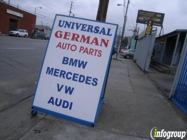 Universal German Auto Parts & Service BMW MERCEDES