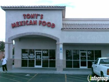 Tony's Mexican Food