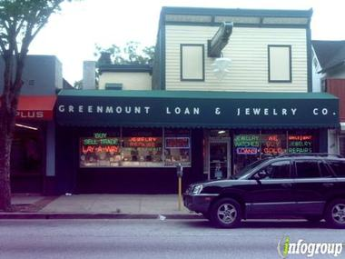 Greenmount Loan &amp; Jewelry Co