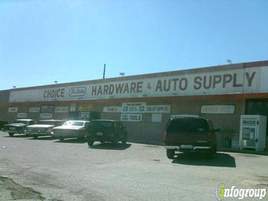 Choice Hardware &amp; Auto Supply