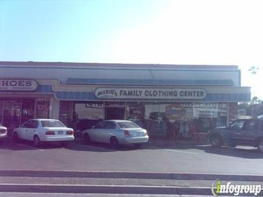 Mario&#039;s Family Clothing Ctr