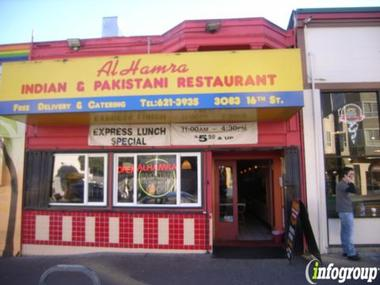 Alhamra Pakistani & Indian Restaurant