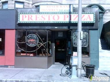 Presto Pizzaria Restaurant