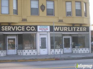 J & K Service Co Wurlitzer Parts
