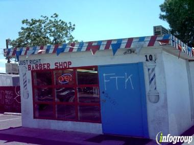Just Right Barber Shop