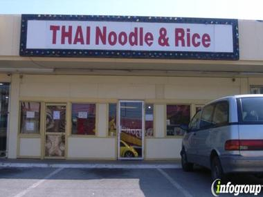 Thai Noodle &amp; Rice