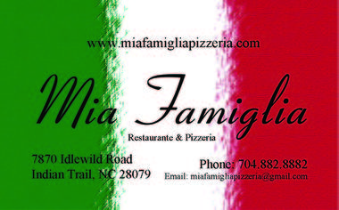Mia Famiglia Pizzeria